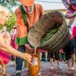 Wine festival in Atajate