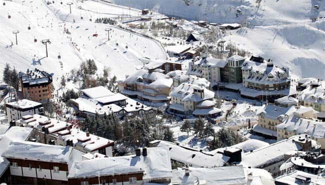 Spending New Year's Eve in Sierra Nevada ski resort