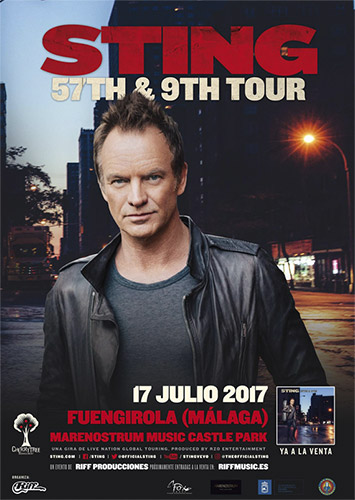 Live concerts in Fuengirola in May, June, July and August