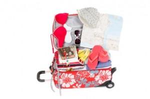 Haciendo el equipaje de viaje