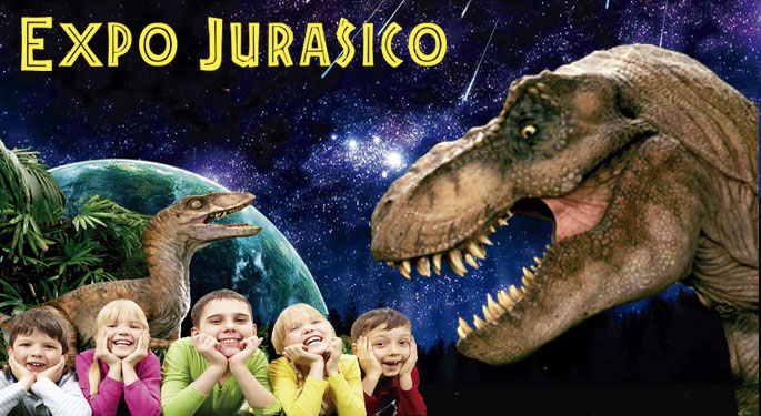 Dinosaurs in Malaga! Jurassic Expo arrives with activities for children