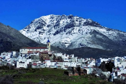 Typical village in Sierra de las Nieves, Malaga