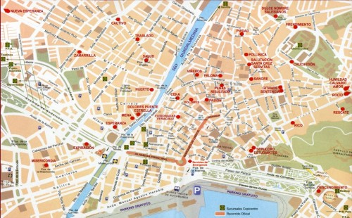 map holy week easter