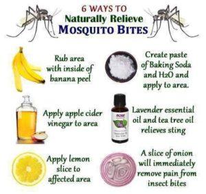 Stechmücken-Schutzmittel