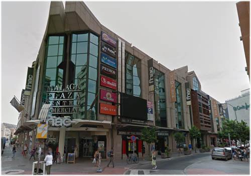 shopping in Malaga Plaza