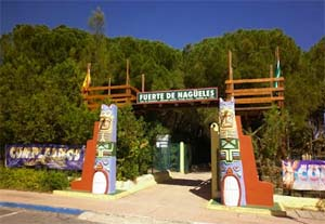 Nagueles park and playground in Marbella