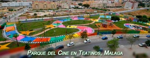Cinema park and playground in Teatinos