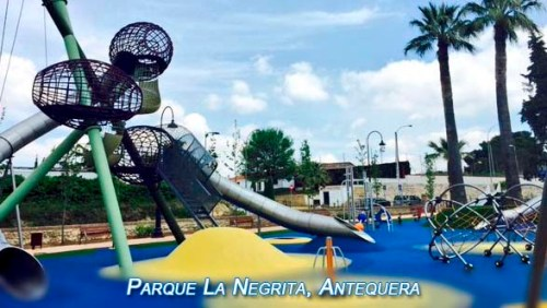 Playground in Antequera was awarded as the best in Spain