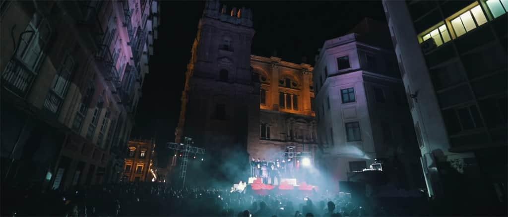 White Night in Malaga