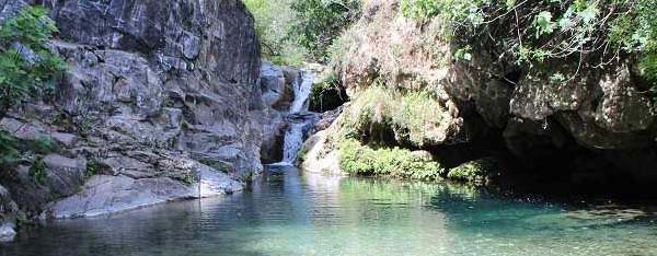 Natural pools in Malaga