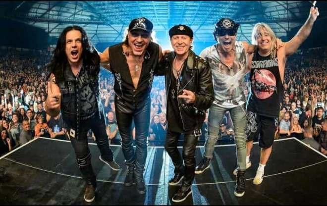 Scorpions concert in Fuengirola