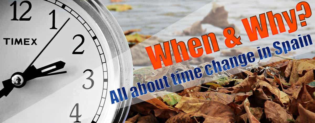 All about time change in Malaga and Spain and time difference