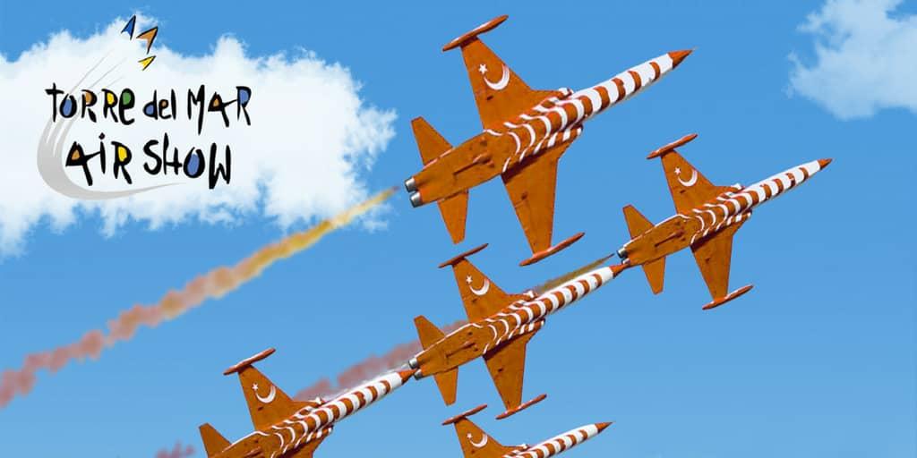 Internationales Flug-Festival in Torre del Mar