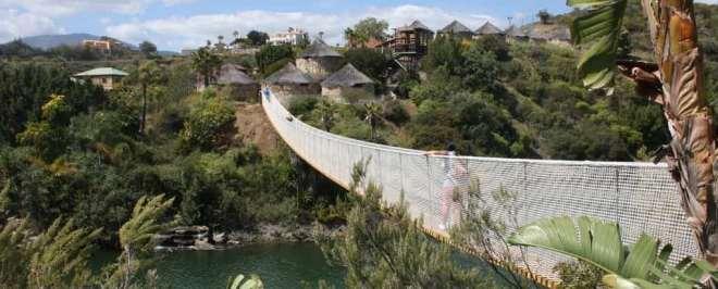 Hotel familiar en zoo Selwo Lodge