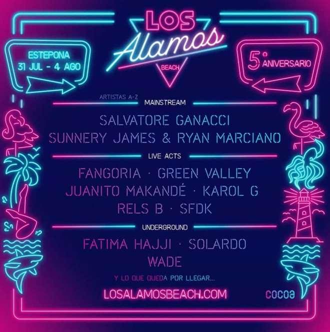 Cartel Los Alamos Beach Festival 2019