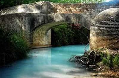 Manantial de aguas termales en Málaga