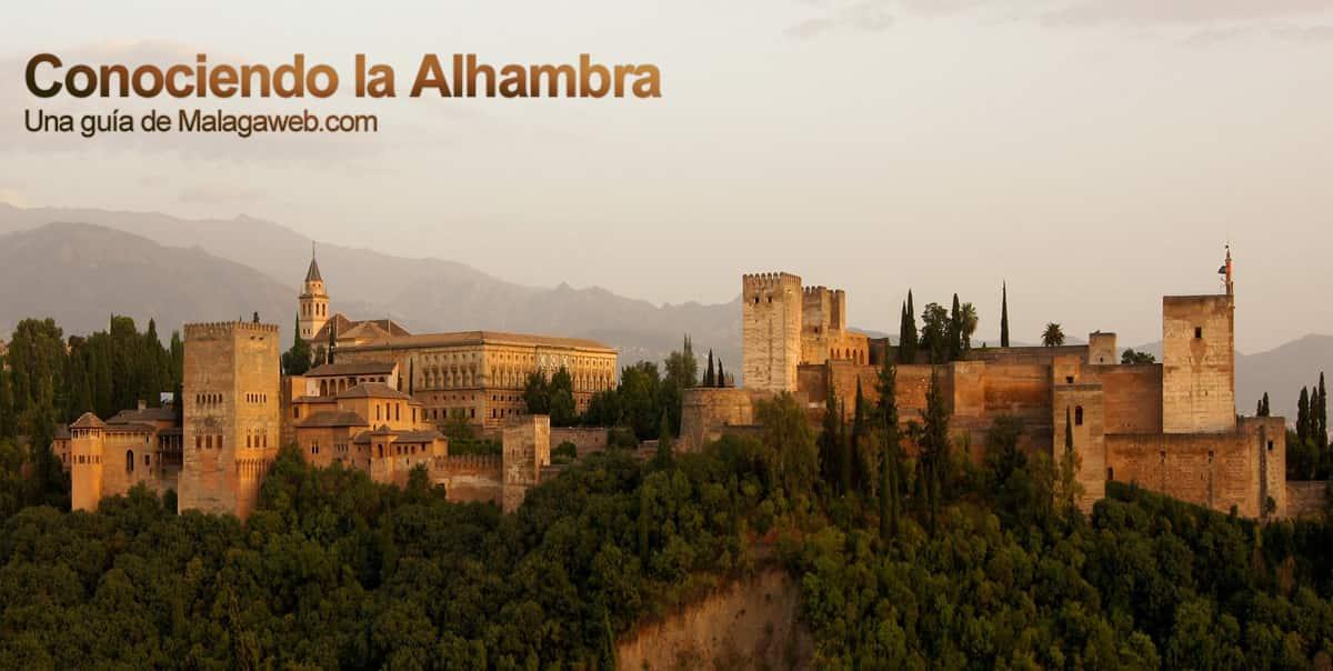 Vista de la Alhambra en Granada