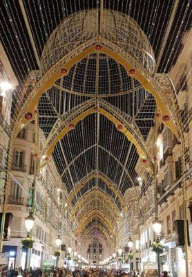 Alumbrado de Navidad en Málaga 2017