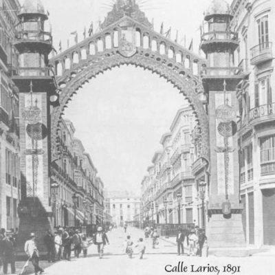 Calle Larios en 1891