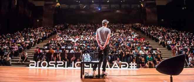 Videogame conference in Malaga