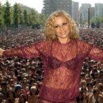 Marta Sánchez en concierto