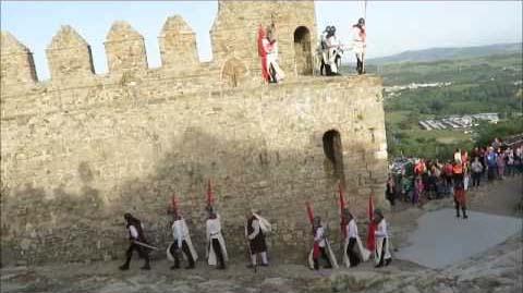 Fiesta moros y cristianos en Benalauria