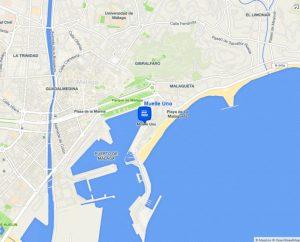 mapa muelle-uno