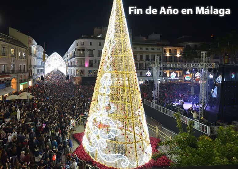 Nochevieja en Málaga