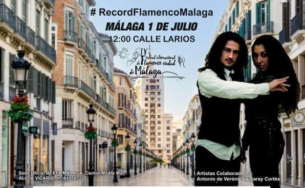 Record guiness flamenco en Málaga