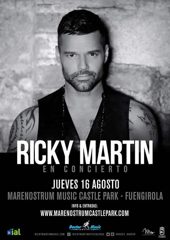 Conciertos en directo en Fuengirola durante mayo, junio, julio y agosto