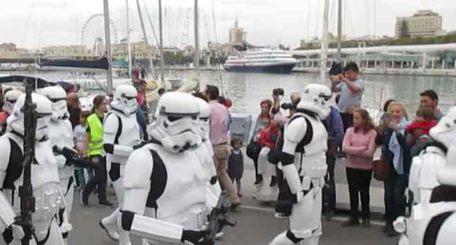 Star Wars Parade in Málaga