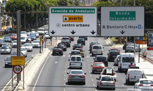 Conoce la situación del tráfico en Málaga en tiempo real