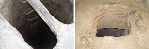 túneles y pasadizos subterráneos en Cortijo Jurado