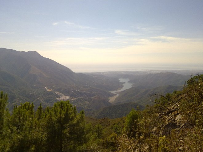 Viewpoint in Marbella, Sierra de Istan