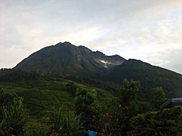 View of Mount APO from our Paradise Camp