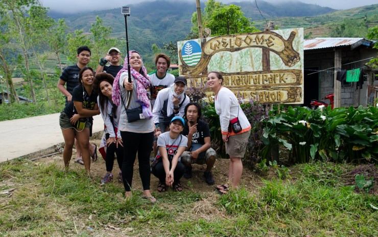 At the jump off of Mt. Kanlaon
