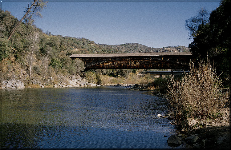 Knights Ferry Stanislaus River Through