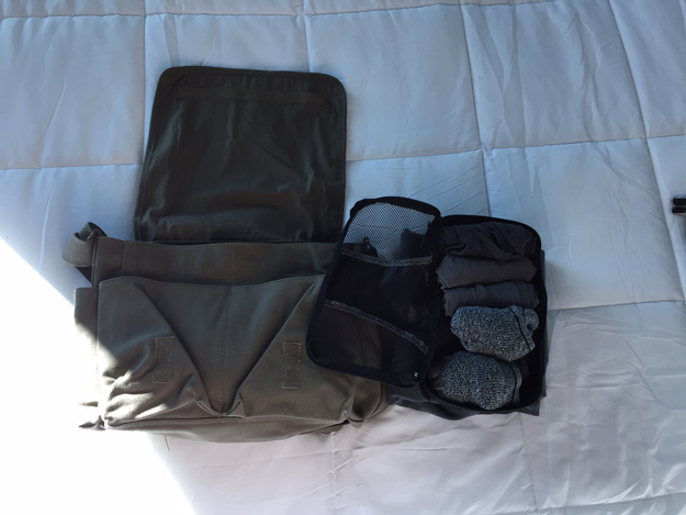 Rothco Messenger Bag with Packing Cube