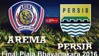 Photo of Jadwal Final Piala Bhayangkara 2016: Persib VS Arema di GBK