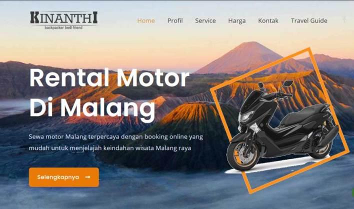 Malang Rental Motor Kinanthi Backpacker
