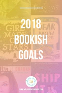 2018 bookish goals image