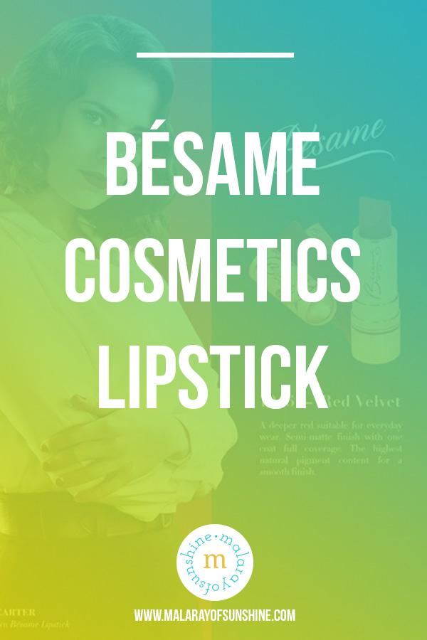 Bésame Cosmetics Lipstick Swatches