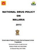National Drug Policy India 2013