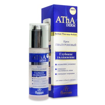 Hijaluronska krema za lice i dekolte - Dubinska hidratacija (AThA Derm)