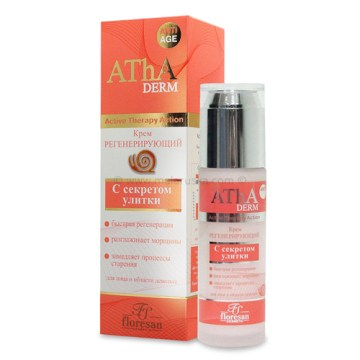 Regenerativna krema za lice i dekolte sa ekstraktom puža (AThA Derm)