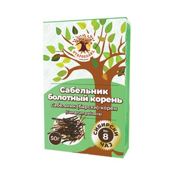 Sibirski čaj SABELJNIK (barski) - koren