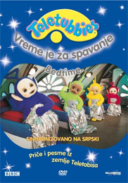 Teletubbies  Bedtime DVD  Small Serbian Shop