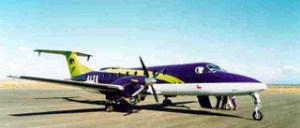 The 20-seater aircraft
