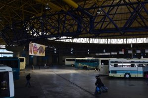 Salonika Bus station