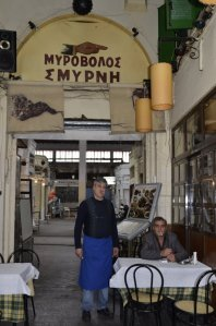 Salonika Most Greek looking taverna ever Myrovolos Smyrni